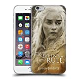 Official HBO Game Of Thrones Daenerys Targaryen Character Portraits Soft Gel Case for Apple iPhone 6 Plus / 6s Plus