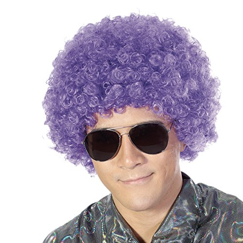 Fluffy Afro Synthetic Clown Wig for Men Women Cosplay Anime Party Christmas Halloween Fancy Funny Wigs