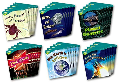 Oxford Reading Tree: Stage 16: TreeTops Non-fiction: Class Pack (36 Books, 6 of Each Title)