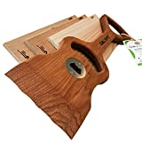 Premium Hickory Wood Grill Scraper + Free Grilling Plank Kit. Uniquely Simple, Safe and Superior Grill Care. Perfect Gfft for Grillers