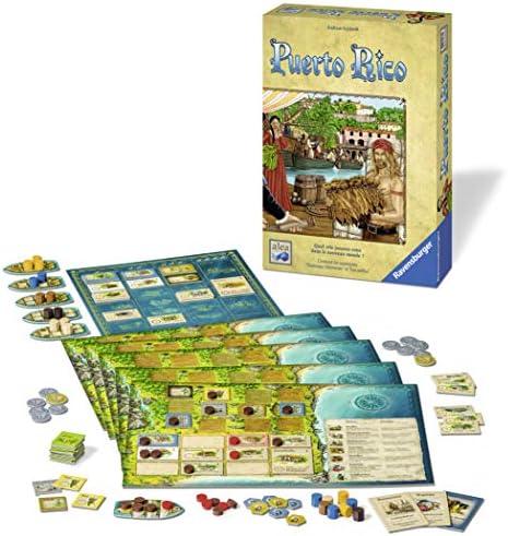 Ravensburger 82375 Puerto Rico - Juego de mesa: Amazon.es: Juguetes y juegos