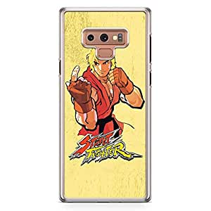 Loud Universe Ken Classic Action Samsung Note 9 Case Street Fighter Samsung Note 9 Cover with Transparent Edges