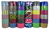 36 roll variety pack assorted printed duct tape 1.88'' x 5yrd Fun for children art