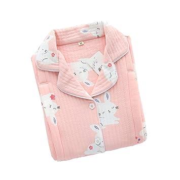 AXIANQI Modelos De Primavera Y Otoño Pijamas De Maternidad De Algodón, Pijamas para Amamantar Después