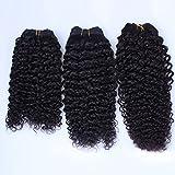 DaJun Hair 5A Cambodian Virgin Human Hair Weave Kinky Curly 1pcs/lot 100gram Natural Colour (trademark:DaJun)