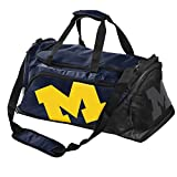 NCAA Michigan Locker Room Collection Full Size Duffel Bag