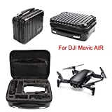 Inverlee Drone Waterproof Portable Handheld Carry Case Storage Bag for DJI Mavic AIR,Protect Your Drone From Damage (Black)