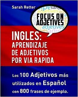 Ingles Aprendizaje De Adjetivos Por Via Rapida Los 100