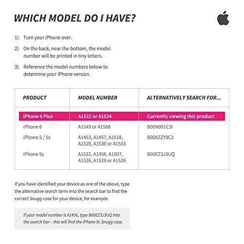 Coque iPhone 6/6s Plus, Snugg