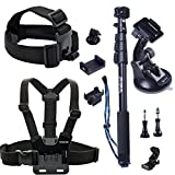 Smatree 13-in-1 Outdoor Sports Essentials Accessories Kit for GoPro Hero4/3+/3/2/1