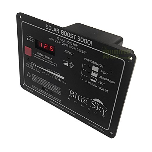 Blue Sky Energy Solar Boost 3000i MPPT Charge Controller, 30 Amp 12 Volt For Sale