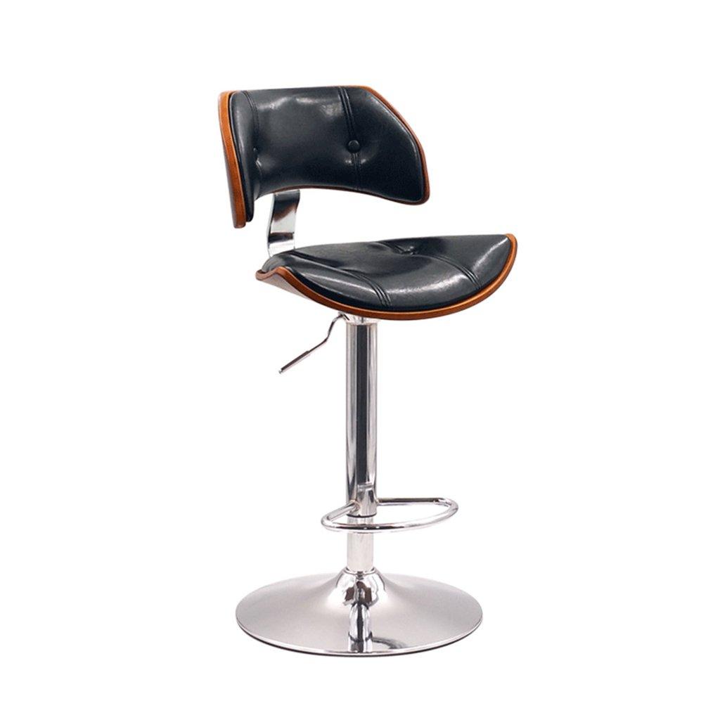 XUEPING バースツール/チェア カウンターチェア 360度回転するオフィスチェア キッチン レストラン バースツール/チェア 高めの椅子 ハイスツール (色 : B) B07DF9YJD5 B B