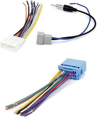 Juego de Cables de Radio Estéreo DVD Cables de Antena de ...