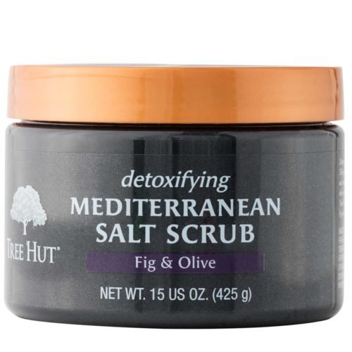 51EOGB2rzqL Tree Hut Mediterranean Salt Scrub, Fig and Olive, 15 Ounce