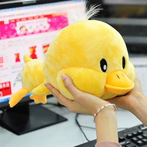 Baby Shower Teddy Bear Duck (Creative Yellow Duck Doll Plush Animal Stuffed Toy Trumpet Meng Pet Birthday Valentine Gift 11.8