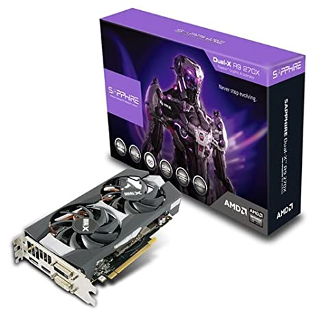 Sapphire 11217-04-20G - Tarjeta gráfica AMD R9 270X (1020 ...