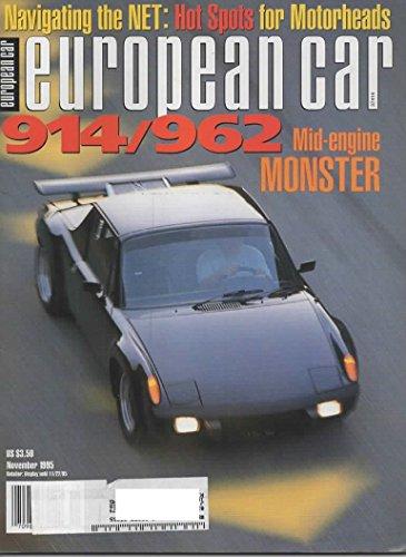 European Car Magazine, November 1995 (Vol 26, No 11)