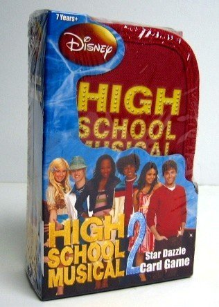 High School Musical 2~STAR DAZZLE Card Game~Disney Exclusive!