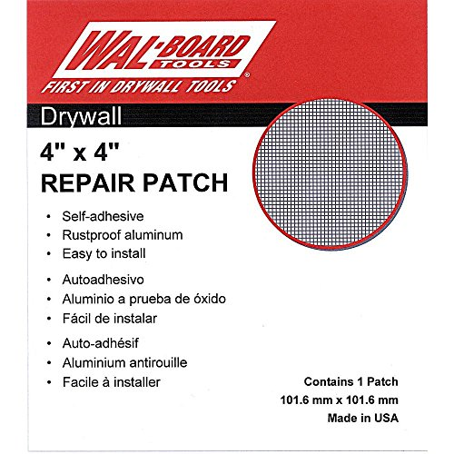 Board Drywall - 6-Pack Wal-Board Drywall Repair Patch - 4