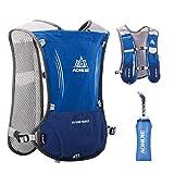 TRIWONDER Hydration Pack Backpack 5L Marathoner Running Race Hydration Vest (Blue) Review