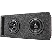 Skar Audio Dual 6.5 800 Watt EVL Series Subwoofer Package - Includes Dual 4 Ohm Subwoofers Loaded in Vented Box