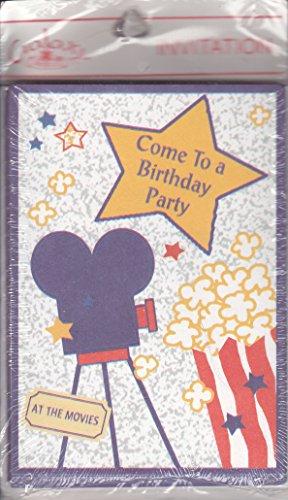 Movie Ticket Invitation (Galaxy Children's Birthday Party Invitations -