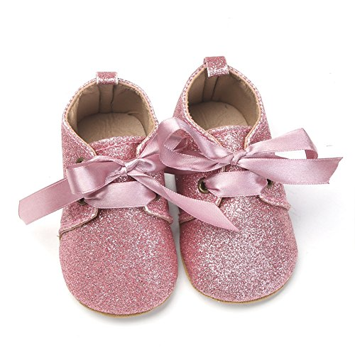 Rose Pas Bébé Yimosecoxiang Chaussures Premiers Pour fille Y0z0aOnH