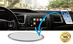 New Premium Magic [3 Pack] Phone Holder for iPhone Car Office Kitchen Tools GPS Boat - Sticky Gel Pad Anti-Slip