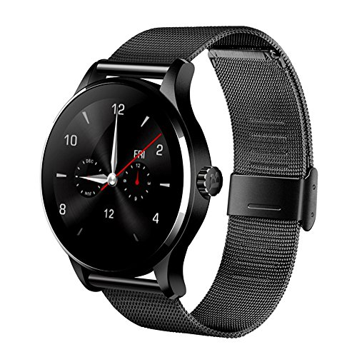 SEPVER All-in-1 K88h Smart Watch Round IPS Touch Screen Bluetooth 4.0 removable (Touch Screen Smartphones)
