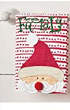 "Mud Pie Santa ""Fa La La"" Towel"