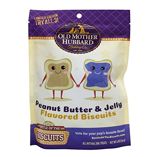 PB and Jelly Dog Biscuit, 6 oz