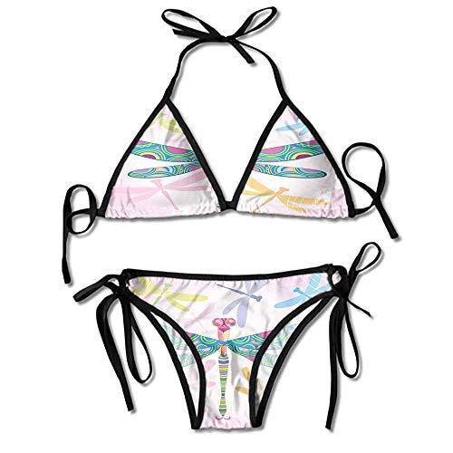 Custom Pattern Zuma Belted Hipster Bikini Bottom Swimsuit for Women ()