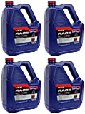 Genuine OEM 1 Case of 4 Gallons of Polaris Snowmobile VES Race Synthetic 2-stroke Engine Oil 2878191