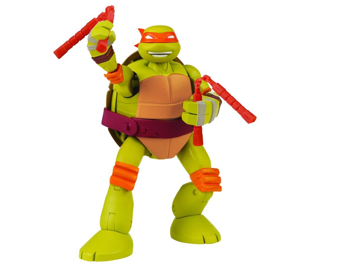 tortues ninja 5587 figurine animation transformable mike 14 cm amazonfr jeux et jouets - Tortues Ninja Tortues Ninja