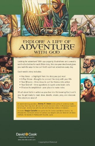 The Action Bible Devotional: 52 Weeks of God-Inspired Adventure (Action Bible Series) by David C Cook (Image #1)