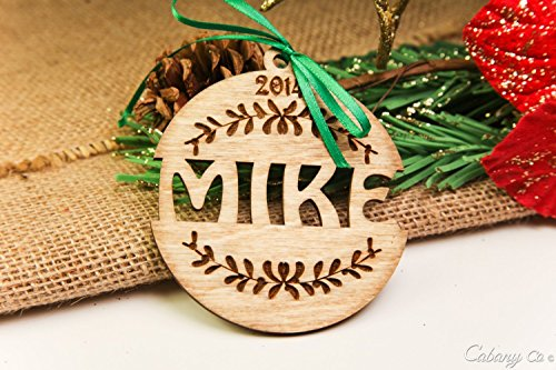 Personalized Christmas Ornament- Jingle Bell - History Timeline Sunglasses