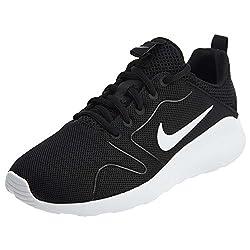 Nike Women's Kaishi 2.0 Running Shoes, Blackwhite, 10