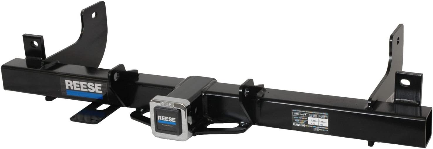 Reese Towpower 44552 Class IV Custom-Fit Hitch with 2 Square Receiver Opening Includes Hitch Plug Cover