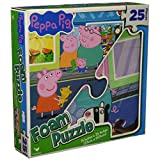 Peppa 6039955  Pig Foam Puzzle - 25 Pieces