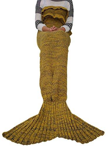 kpblisrsummer-mermaid-super-soft-blanket-for-children-audlt-7135-yellow