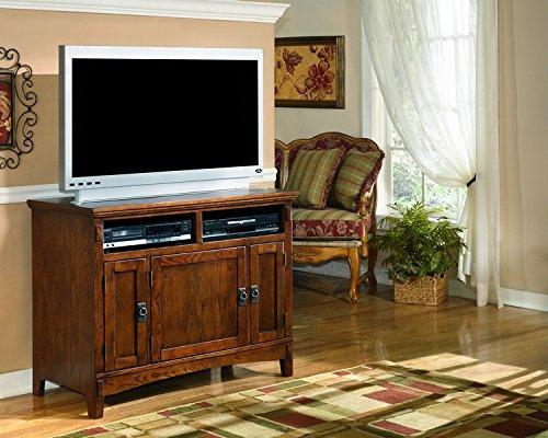 Ashley Furniture Signature Design - Cross Island - 42 in - TV Stand - Medium Brown