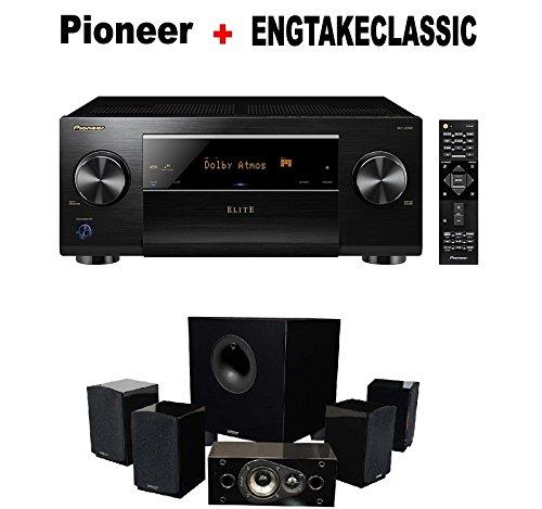 Pioneer-Elite-Audio-Video-Component-Receiver-black-SC-LX502-Energy-51-Take-Classic-Home-Entertainment-System-Set-of-Six-Black-Bundle