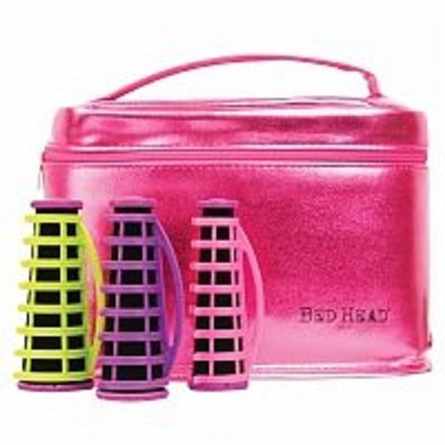 (TIGI Bed Head On a Roll 10 Piece Tourmaline Ceramic Conical Hairsetter, Pink - 2pc )