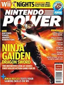 Nintendo Power Magazine (Ninja Gaiden), January 2008 (224 ...