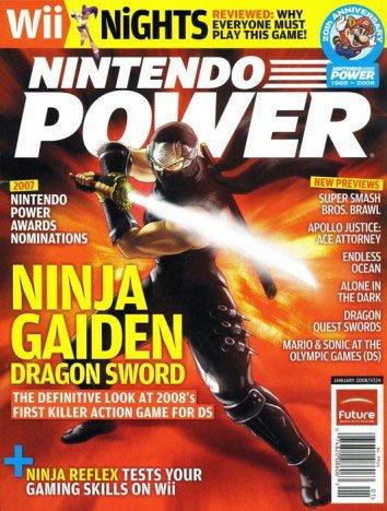 Nintendo Power Magazine (Ninja Gaiden), January 2008 (224 ...