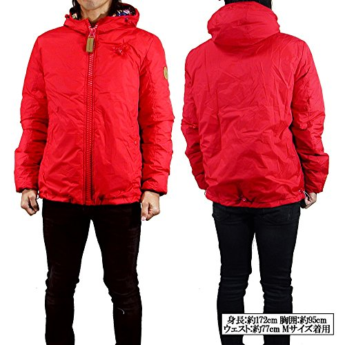impermeable hombre Rojo Chaqueta para 80dboriginal w7CS5qc