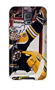 High Impact Dirt/shock Proof Case Cover For Galaxy S5 (boston Bruins (80) )