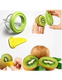Acquisition Drhob Vegetable Fruit Peeled Kiwi Cutter Twister Slicer Kitchen Peeler Divider Kitchen Fruit Tools Fruit Corers... compare