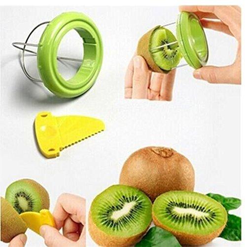 Acquisition Drhob Vegetable Fruit Peeled Kiwi Cutter Twister Slicer Kitchen Peeler Divider Kitchen Fruit Tools Fruit Corers Separator Tools compare