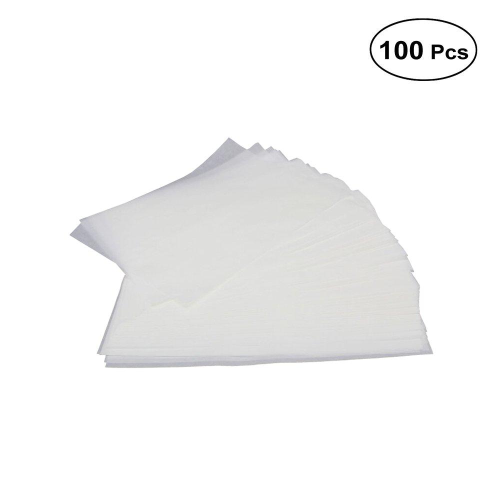 Bestonzon Lot de 100feuilles de papier sulfurisé papier cuisson antiadhésif Parchemin à gâteau Cookie Sheet Liner